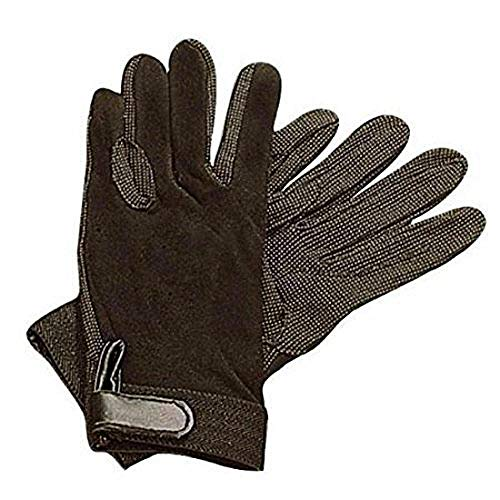 - Dublin Childrens/Kids Track Riding Gloves (One Size) (Black)