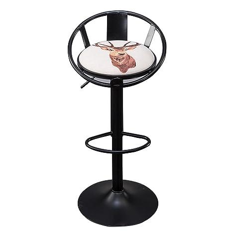 Fabulous Amazon Com Yxyh Lift Rotating Chair Breakfast Cartoon Faux Alphanode Cool Chair Designs And Ideas Alphanodeonline