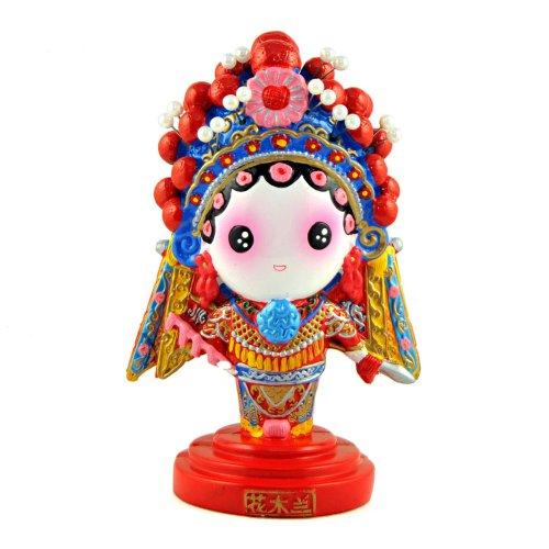 稻禾q版卡通京劇娃娃 創意家居客廳裝飾擺件 中國風節日商務出國禮品