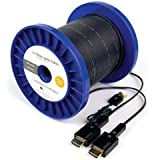 MyCableMart 200 ft HIGH SPEED HDMI 18Gb Fiber Optic Cable 4Kx2K/60Hz Support PLENUM Rat