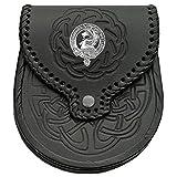 Stewart (Appin) Scottish Clan Crest Badge Sporran