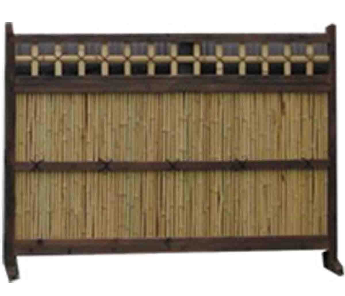竹垣袖垣 お庭を和風に演出 竹垣((幅165cm×高さ120cm))※メーカー直送 B00JQRIEJM 16800