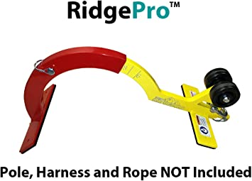 The Ridgepro Roof Anchor Roofing Tool Roof Hook For First Man Up Fmu Last Man Down Lmd The Ridge Pro Newer Version No Pole Amazon Com