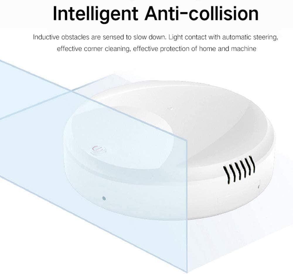 Robot de balayage automatique intelligent USB - Pour maison, bureau - Blanc et noir - HRTT, blanc Blanc