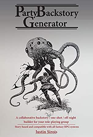 Party Backstory Generator: for Fantasy Roleplaying Games (RPG) DnD 5e and  more