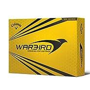 Callaway Golf 2015 Hex Warbird Distance Golf Balls - 3 Dozen - White