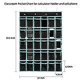 Classroom Pocket Chart Organizer,KEEPJOY Cell
