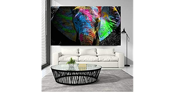 RTCKF Seven Running Horses Animal Painting Art Canvas Art ...
