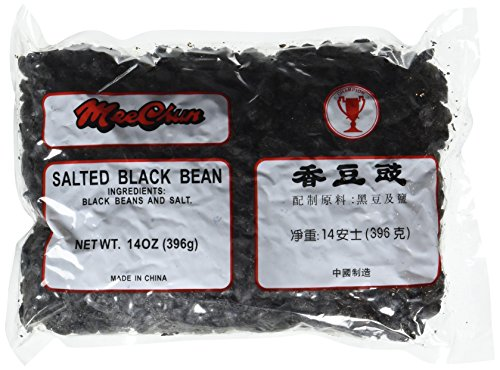 Salted Black Beans - 16 Ounces