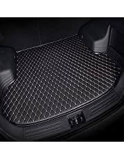 for Honda CR-V CRV Hybrid 2017-2021 Tailored Car Leather Boot Liner Mat Interior Accessories Trunk Cargo Storage Protector Tray Durable Waterproof Anti-Scratch Black Beige