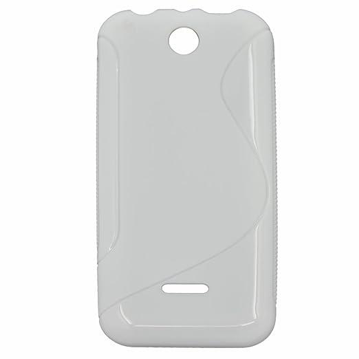 15 opinioni per S linea flessibile di TPU Custodia protettiva copertura per Nokia 225 Bianco