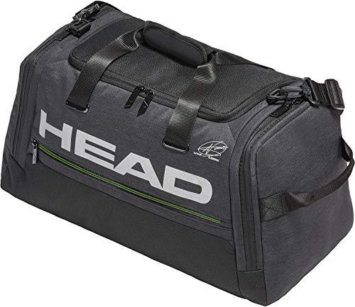 HEAD-Djokovic Duffle Tennis Bag Black-(726424714834)