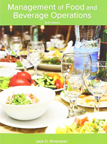 Management of Food and Beverage Operations