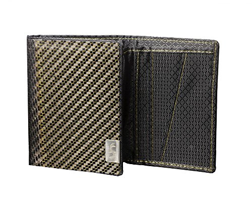 Common Fibers Carbon Fiber Trifold Wallet (Twill Tri Fold Wallet)