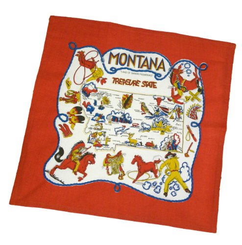 UPC 879952004615, Montana State Souvenir Dish Towel
