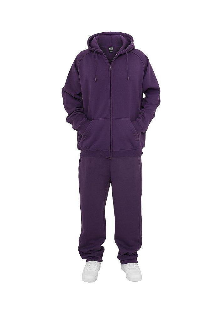 Urban Classics Blank Suit Jogginganzug TB001, Größe:s;color:lila