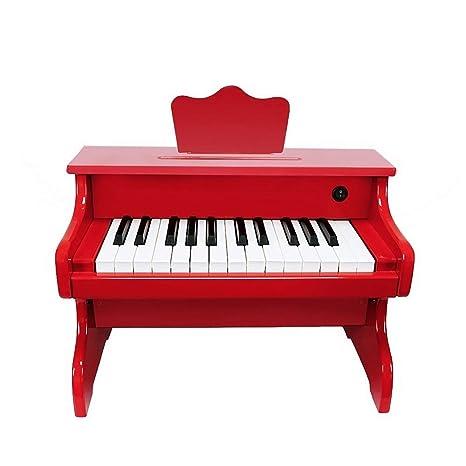 YYWJ Piano de Juguete Teclado para niños Multifuncional Piano de Madera 1-3 años de
