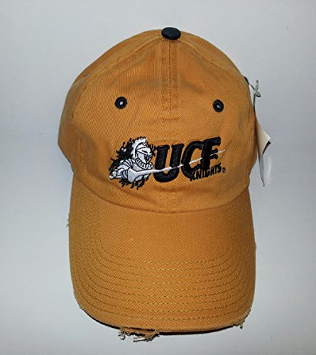 Knights Embroidered Hat - UCF Knights Adjustable Buckle Hat Embroidered Distressed Cap