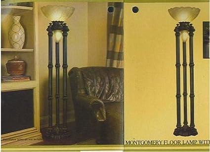 Cheyenne Industries Montgomery Floor Lamp with Night Light ...