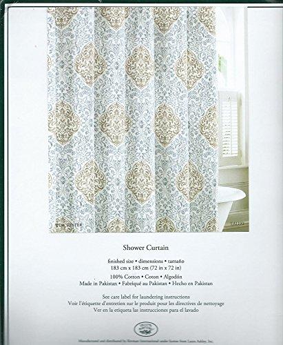Laura Ashley Winchester Fabric Shower Curtain