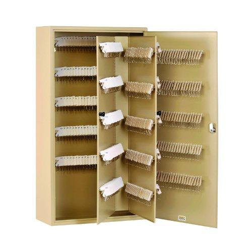 (STEELMASTER Unitag Locking 500-Key Cabinet, 16.5 x 31.13 x 7 Inches, Sand (201950003))