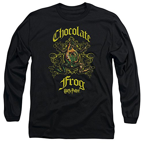 Long Sleeve: Harry Potter- Chocolate Frog Crest Longsleeve Shirt Size M