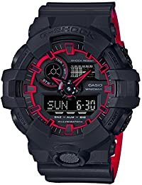 GA700SE-1A4 Black 53.4mm Resin G-Shock GA-700 Men's Watch