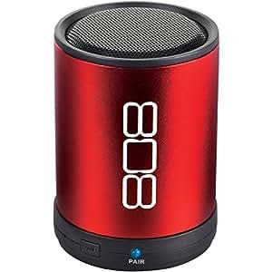 808 CANZ Bluetooth Wireless Speaker - Red