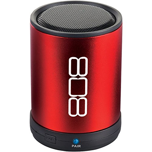 808 CANZ Bluetooth Wireless Speaker – Red
