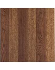 Achim Home Furnishings FTVWD22345 Tivoli Self Adhesive Vinyl Tiles, 12 x 12-Inches, Medium Oak, 45 Pack