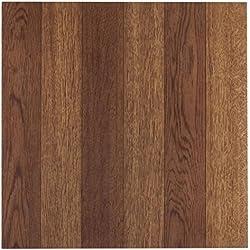 Achim Home Furnishings FTVWD22320 Nexus 12-Inch Vinyl Tile, Wood Medium Oak Plank-Look, 20-Pack