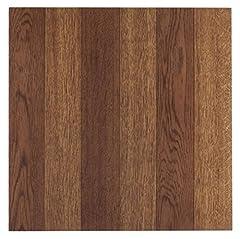 Achim home furnishings FTVWD22320 nexus 12-inch vinyl tile, wood medium oak p.