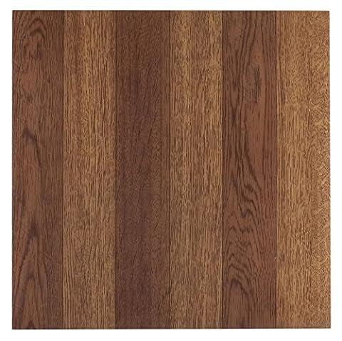 Achim Home Furnishings FTVWD22320 Nexus 12-Inch Vinyl Tile, Wood Medium Oak Plank-Look, 20-Pack - Flooring
