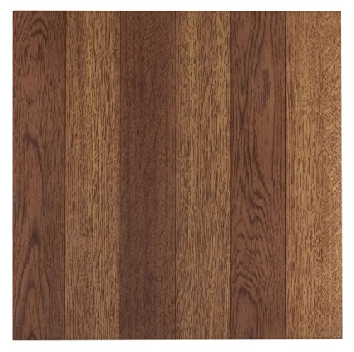 (Achim Home Furnishings FTVWD22320 Nexus 12-Inch Vinyl Tile, Wood Medium Oak Plank-Look, 20-Pack)