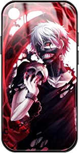 Tokyo Ghoul iPhone xr case - Tokyo Ghoul Anime Mange Phone case iPhone xr for Shockproof Hard pc+TPU Bumper Protective case for Boys Men