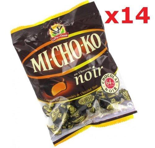 Mi-cho-ko, Dark Chocolate Covered Caramels 14 pack