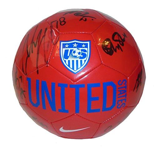 Nike 2015 USWNT USA Womans Team Autographed / Signed Unit...