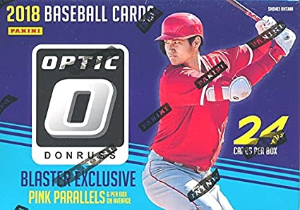 2018 Donruss Optic Baseball Exclusive Factory Sealed Retail Box With