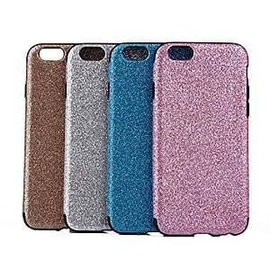 Mini - Flash Powder Design Hard Back Cover for iPhone 6 , Color-Silver