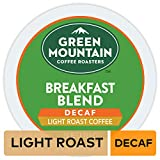 Green Mountain Coffee Roasters Breakfast Blend Decaf, Single Serve Coffee K-Cup Pod, Light