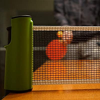 DRB Table Tennis Instant Net | Ping Pong Net for Practice - Lightweight - Adaptive - Easy to Assemble and disassemble |Training Anywhere Portable Table Tennis for Indoor & Outdoor Ping Pong Sport : Sports & Outdoors