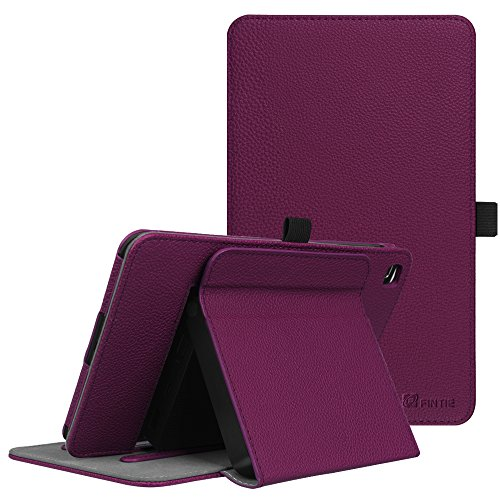 Fintie T-Mobile LG G Pad X2 8.0 Plus Case (Support Extra Battery Plus Pack), Multi-Angle Viewing Stand Cover for LG GPad X2 8.0 Plus T-Mobile Model V530 8-Inch Android Tablet 2017 Release, Purple
