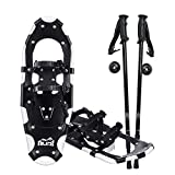 Search : ALPS Adult All Terrian Snowshoes + Pair Anti-Shock Adjustable Snowshoeing Pole + Free Carrying Tote Bag