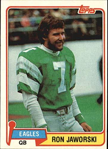 (1981 Topps #280 Ron Jaworski Eagles NFL Football Card NM-MT)