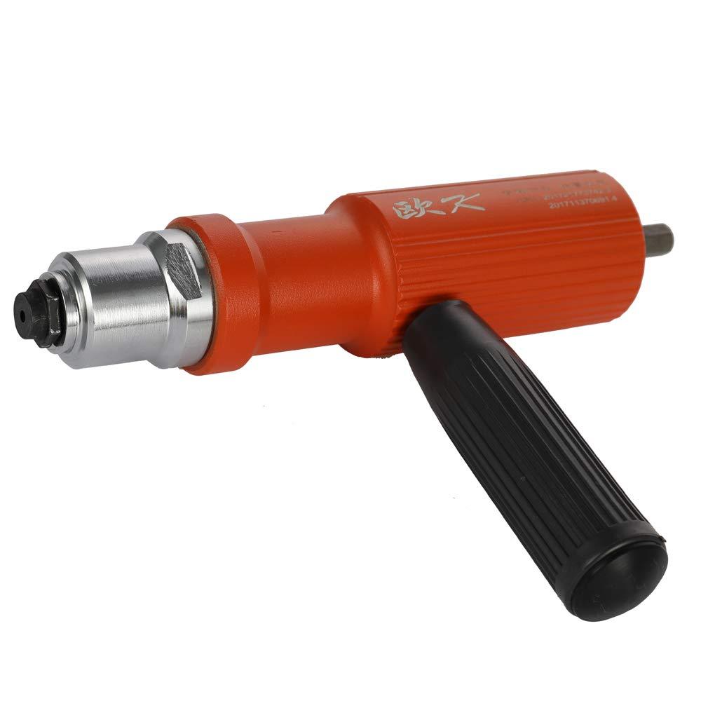 KKmoon /Écrou /Électrique en Alliage Outil de Rivetage Adaptateur sans Fil de Rivetage Outils dInsertion de Rivet pour Interface des Rivets DE 3,2-4,8 mm