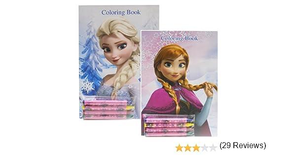 Coloring Pages Lego Frozen : Amazon.com: disney frozen coloring books elsa and anna 2 books