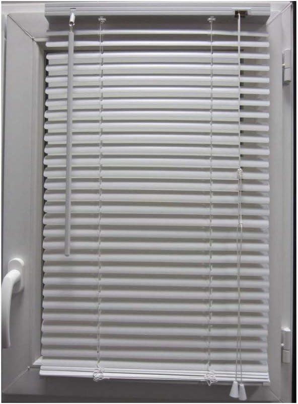 Store Vénitien 40 X H130 Cm Pvc Blanc