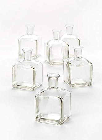 Amazon.com: Botella de vidrio jarrón: Home & Kitchen