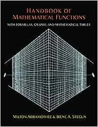 handbook of mathematical functions amazon