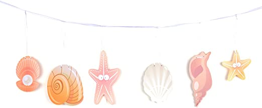 Tissue Crab Luau Hawaiian Tropical Beach Hanging Decor Fun Birthday Party Event